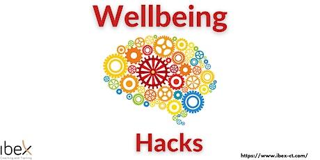 Wellbeing Hacks tickets