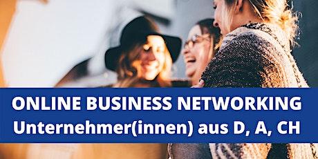 Online Business Networking f. Unternehmerinnen & Unternehmer aus D, A, CH Tickets