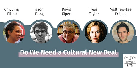 "P&P Live! ""Do We Need a Cultural New Deal?"" Panel Discussion tickets"