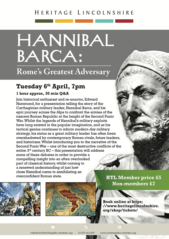 TALK - Hannibal Barca: Rome's Greatest Adversary image
