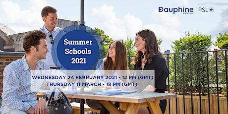 Dauphine London - PSL Summer Schools 2021 - Online Presentations tickets