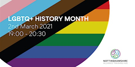 LGBTQ+ History Month tickets