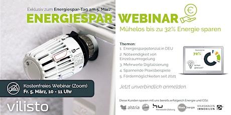 Live Energiespar-Webinar tickets