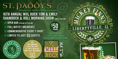 16th Annual St. Paddy's Day Live Remote with WIIL Rock tickets