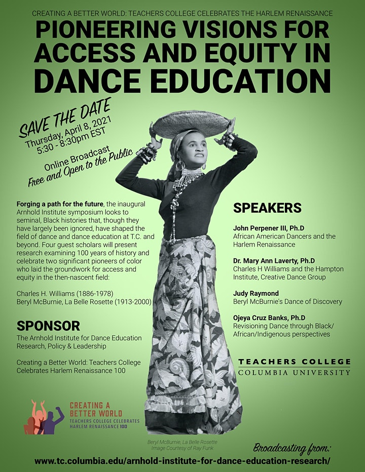 Pioneering Visions for Access and Equity in Dance Education image
