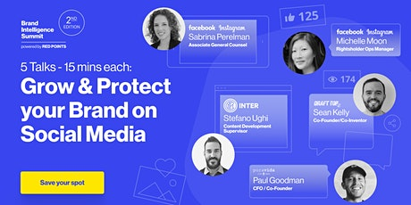 Grow & protect your brand on social media-Brand Intelligence Summit 2021 biglietti