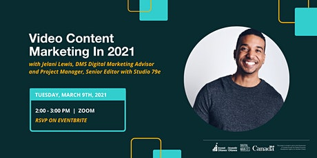 Video Content Marketing in 2021 tickets