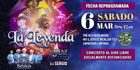 La Leyenda - Festejando Al Amor Y La Amistad tickets