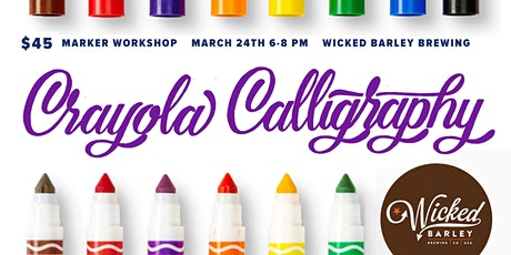 Crayola Calligraphy Workshop tickets