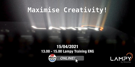 LAMPY Online Session English - Training Tickets