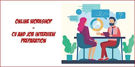 Workshop Online - CV and Job Interview biglietti