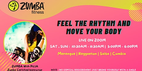 Dance Fitness - Virtual Zumba tickets