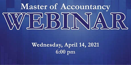 Master of Accountancy Information Session tickets