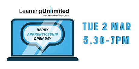 Virtual Derby Apprenticeship Open Day tickets