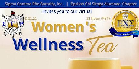 The Women's Wellness Virtual Tea tickets