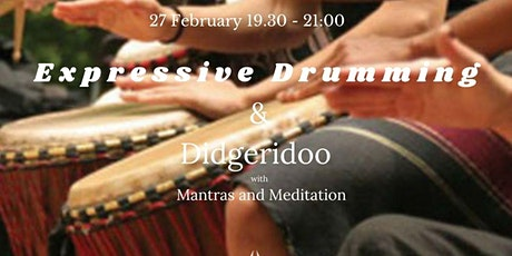 Expressive Drumming and Didgeridoo with Mantras and Meditation entradas