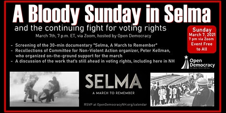 A Bloody Sunday in Selma: A Movie and Discussion tickets