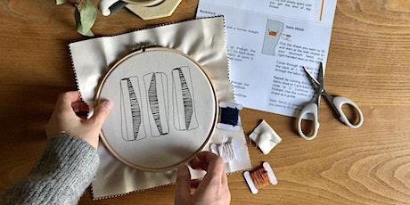 Modern Embroidery Online Workshop tickets