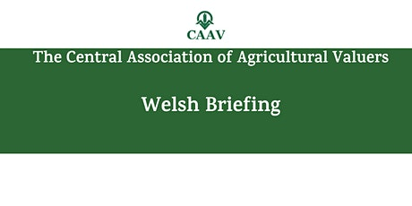 CAAV Briefing - Wales tickets