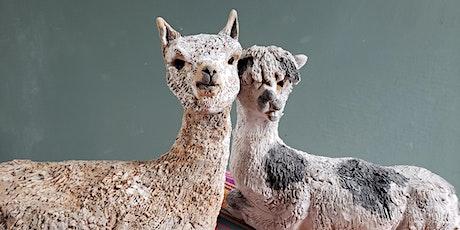Alpaca Sculpting Workshop tickets
