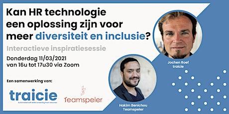 Kan HR tech een oplossing zijn voor meer diversiteit en inclusie? tickets