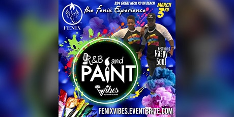 R&B Paint™️ at Vibes! tickets