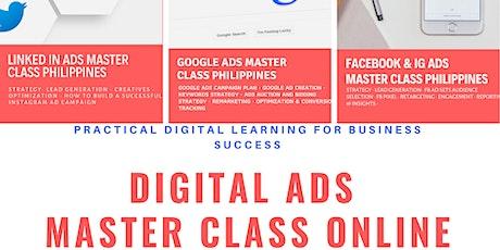 The 2nd Digital Ads Master Class Online 2021 tickets