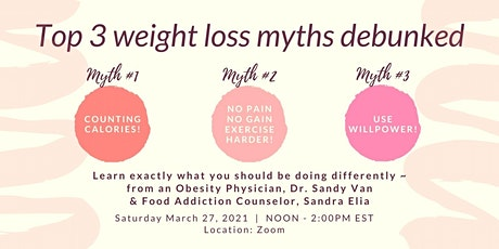 Top 3 Weight Loss Myths Debunked tickets