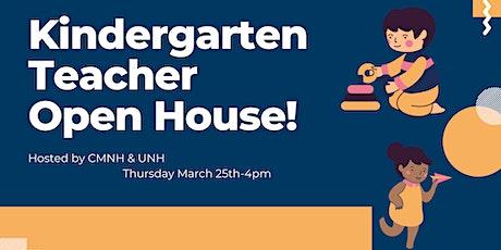 Virtual Kindergarten Teacher Open House tickets