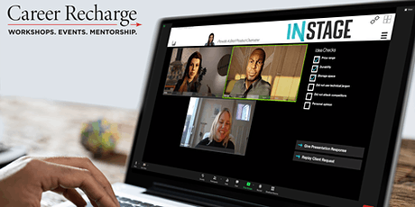 Career Recharge: InStage Live – Interview Skills tickets