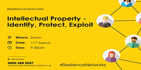 Intellectual Property - Identify, Protect, Exploit tickets