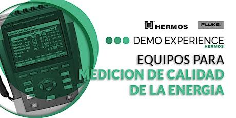 Demo Experience | Equipos para Medición de Calidad de la Energía entradas