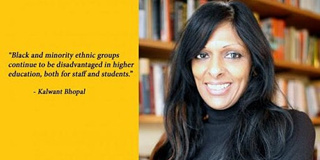 The Unequal Academy: The Experiences of  Female BME colleagues in Education tickets