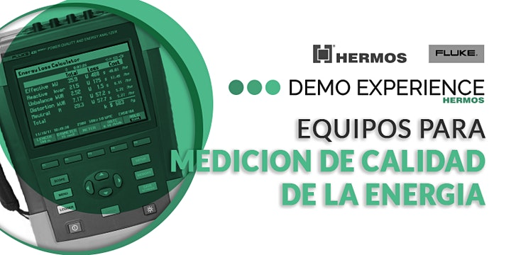 Imagen de Demo Experience | Equipos para Medición de Calidad de la Energía