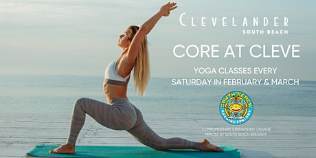 Core at Cleve: Yoga at Clevelander Rooftop tickets