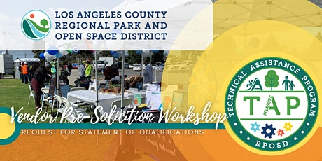 TAP Vendor Pre-Solicitation Workshop tickets