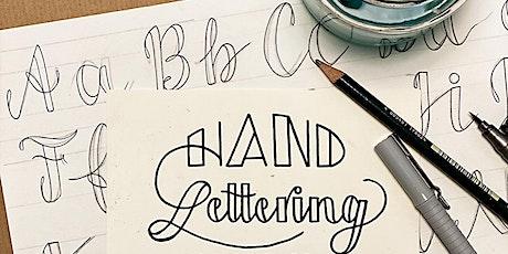 Online-Workshop | Die Kunst der schönen Buchstaben I Für 11- bis 16-Jährige Tickets