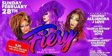 Fiery Latino DRAG N BRUNCH tickets