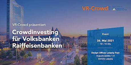Crowdinvesting für Volksbanken Raiffeisenbanken VI Tickets