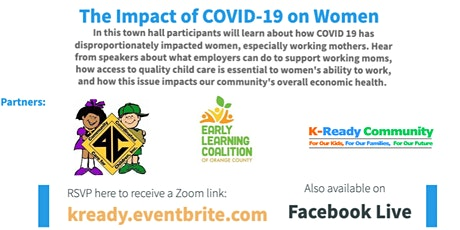 Virtual Town Hall on The Impact of COVID-19 on Women tickets