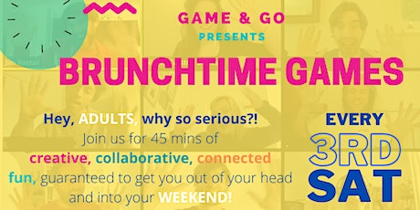 Game and Go Present Brunchtime Games tickets