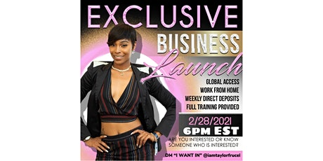 Exclusive VIP Business Launch tickets