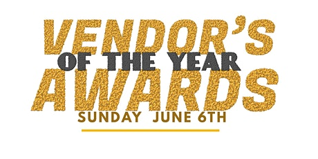 Vendor Of The Year Awards tickets
