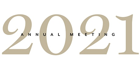 2021 Annual Meeting tickets