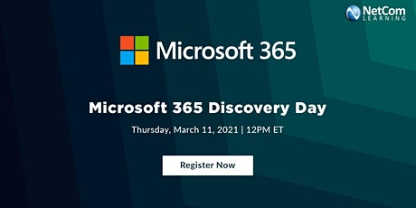 Live Event - Microsoft 365 Discovery Day tickets