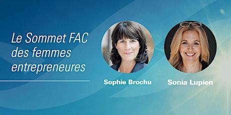 Le Sommet FAC des femmes entrepreneures billets