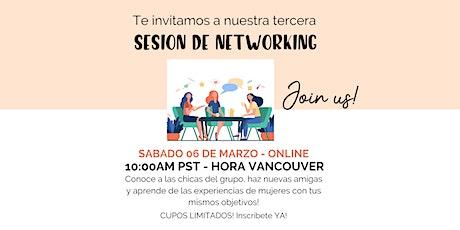 Networking Session con Amigas en Canada tickets
