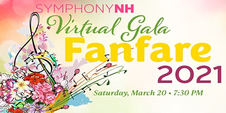 Virtual Gala: Fanfare 2021 tickets