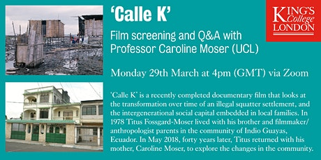 'Calle K' Film Screening and Q&A tickets