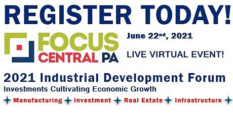 Focus Central Pennsylvania Industrial Development Forum tickets